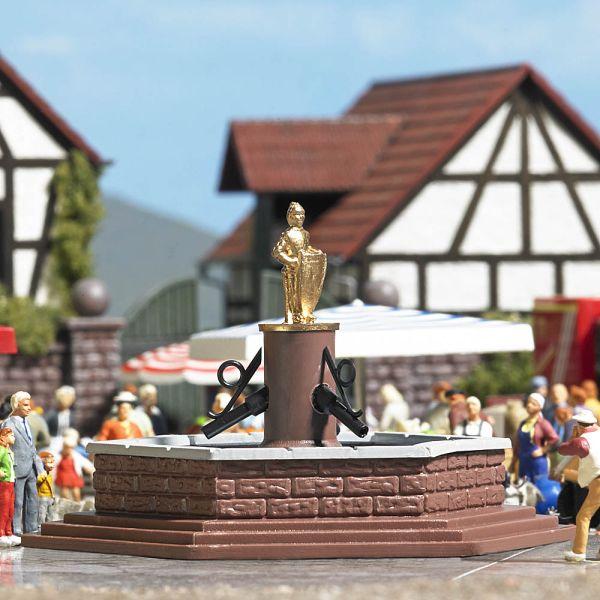 Mini-Welt: Marktbrunnen