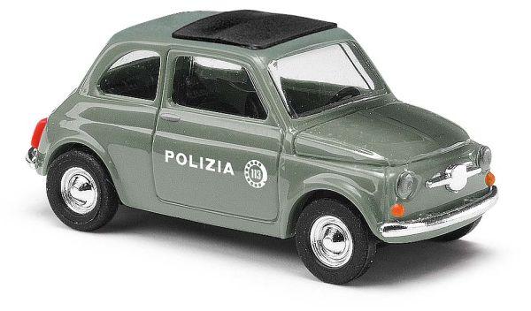Fiat 500, Polizia