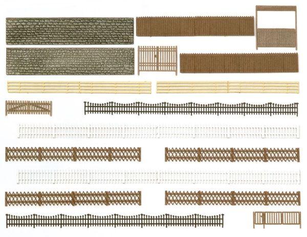 Zäune, Mauern und Tore