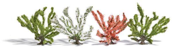 4 Frühlingsbüsche
