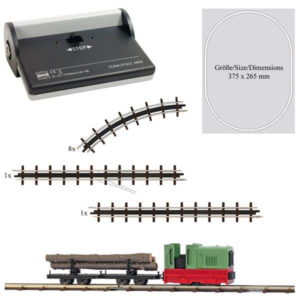 Feldbahn Start-Set »Holztransport«