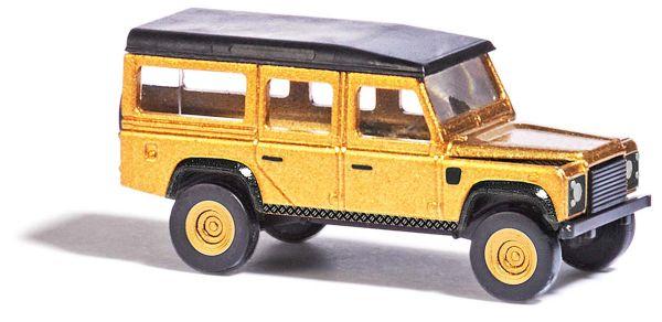 Land Rover Goldfarben