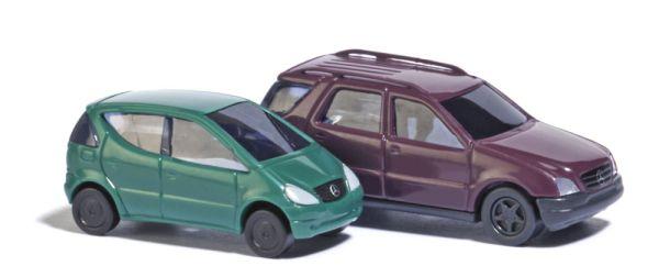 Mercedes A- und M-Klasse