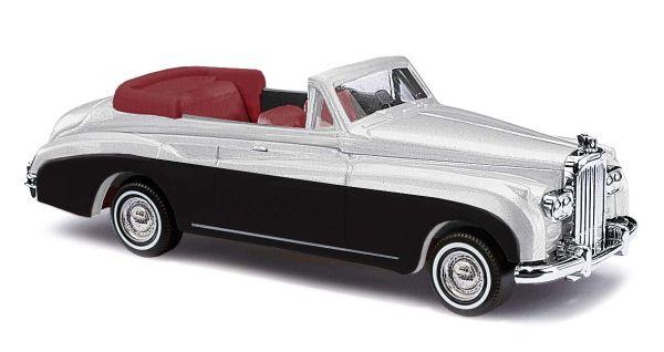 Bentley SerieIII Cabrio, Metallic Silber