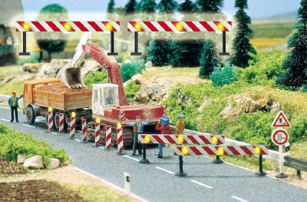 Baustellen-Absperrungen