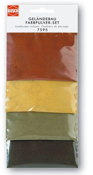 Geländebau-Farbpulver-Set