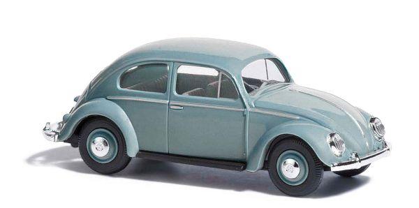 VW Käfer mit Ovalfenster, Blau
