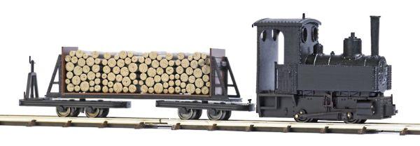 Feldbahn-Start-Set mit Dampflok