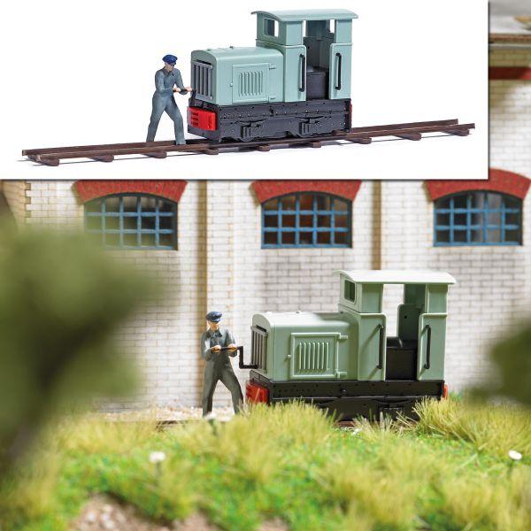 Action-Set: Feldbahnlok+Ankurbler