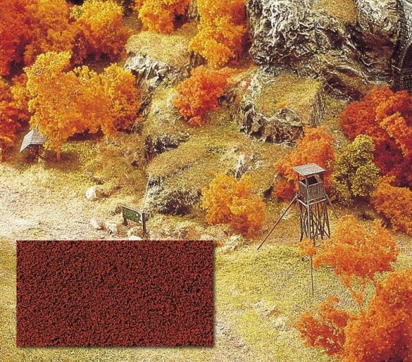 Micro-Flocken rotbraun