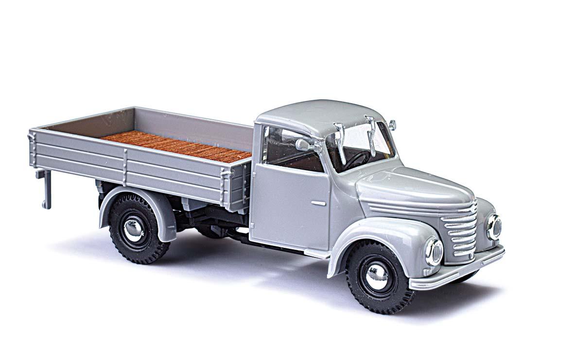 H0 Auto Modell 1:87 Busch 51259 Framo V901//2 Bus Blaue Post Funkentstör.