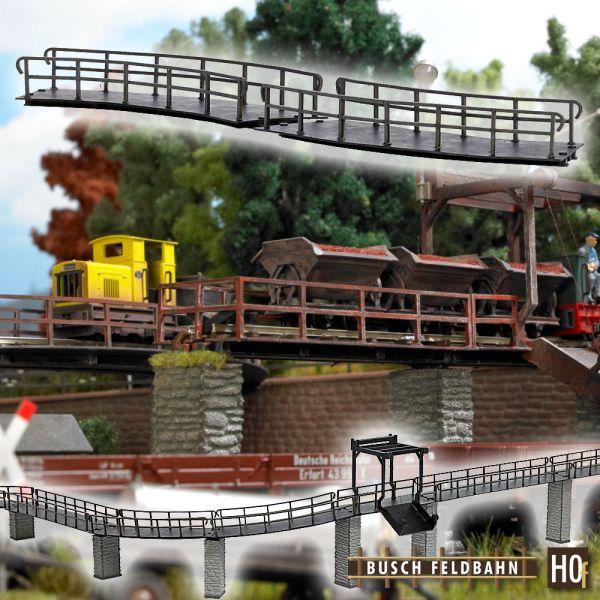 Brücke gebogen