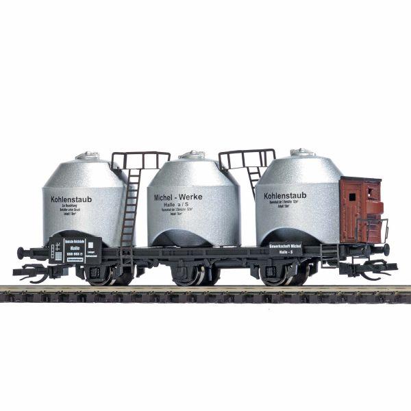 Kohlenstaubwagen mit Bremserhaus