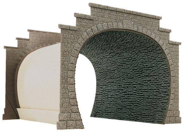 Tunnelröhrenplatte