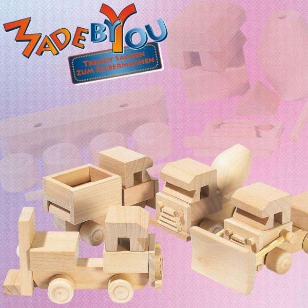 Holzlastwagen