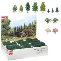 Großpackung: 204 Bäume, sortiert