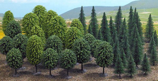 Mischwald mit 50 Bäumen »Mega-Spar-Set«